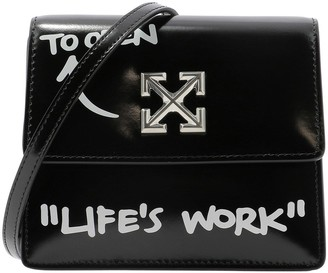 Off-White 0.7 Quote Jitney Shoulder Bag