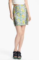Opening Ceremony Floral Jacquard Skirt