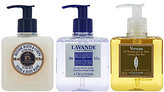 L'Occitane Luxurious Hand Wash Trio