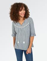 Fat Face Athena Gingham Popover