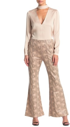 Elodie K High Waist Flare Pants