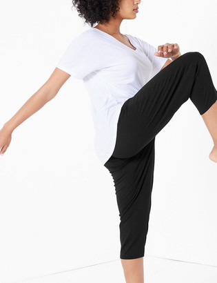Marks and Spencer Quick Dry Cropped Yoga Bottoms