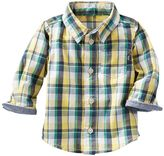 Osh Kosh Baby Boy Plaid Poplin Shirt