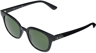 Ray-Ban RB4324 Square Sunglasses 50 mm (Black) Fashion Sunglasses
