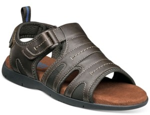 Nunn Bush Men's Rio Grande Two Strap Fisherman Sandals Men's Shoes