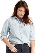 Levi's Plus Size Western Denim Shirt