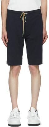Paul Smith Navy Jersey Shorts