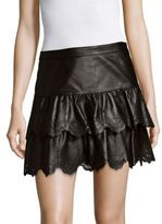 Parker Ciara Leather Skirt