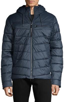 G Star Hooded Puffer Jacket