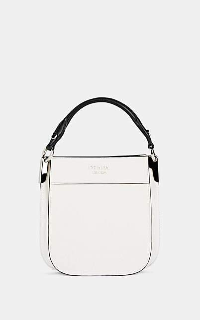 fd7d0ca9 Women's Margit Small Leather Bucket Bag - White