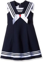 Bonnie Jean Big Girls' Fit and Flare Nautical Sailor Dress