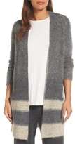 Eileen Fisher Women's Long Open-Front Cardigan
