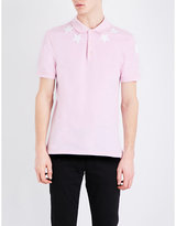 Givenchy Star-embroidered Cotton-piqué Polo Shirt