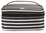 Kate Spade Micah Striped Nylon Cosmetic Case