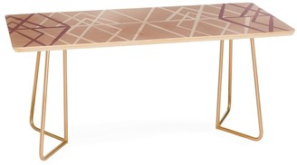 Deny Designs Mareike Boehmer Geometric Sketches 2 Coffee Table