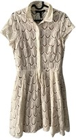 BCBGMAXAZRIA Ecru Cotton Dress for Women