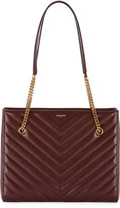Saint Laurent Tribeca Medium Double Chain Shoulder Bag