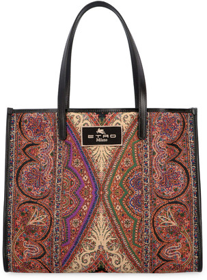Etro Old School Canvas Tote Bag