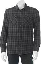 Vans Men's Plaid Woven Button-Down Shirt