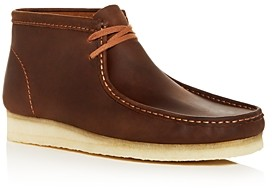 Clarks Men's Wallabee Leather Chukka Boots