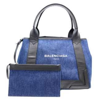 Balenciaga Navy cabas Blue Denim - Jeans Handbags
