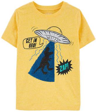 Osh Kosh Oshkosh Boys Round Neck Short Sleeve Graphic T-Shirt - Preschool