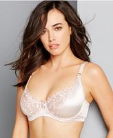 Carnival Full-Figure Satin Minimizer Bra 509