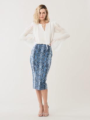 Diane von Furstenberg Kara Cady Pencil Skirt