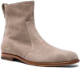 Robert Geller x Common Projects Suede Chelsea Boots
