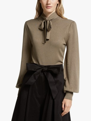Somerset by Alice Temperley Tie Neck Jumper