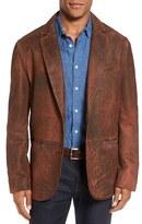 Men's Flynt Distressed Lamb Leather Sport Coat