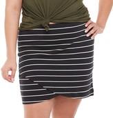 So Juniors' Plus Size SO Simple Bodycon Skirt