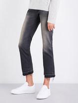 Nili Lotan Boyfriend-fit straight mid-rise jeans