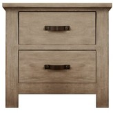 Fossil Maliyah 2 Drawer Nightstand Harriet Bee Color
