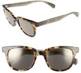 Oliver Peoples 'Masek' 51mm Retro Sunglasses