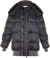 Stella McCartney Oversized quilted shell jacket