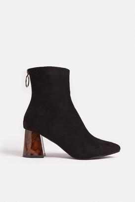 Coast Tortoise Shell Heel Ankle Boots