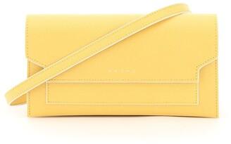Marni Logo Fold-Over Crossbody Bag