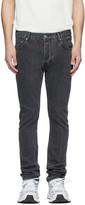 Han Kjobenhavn Black Stonewash Lean-Fit Jeans