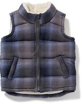 Old Navy Sherpa-Lined Vest for Toddler