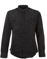 Golden Goose Deluxe Brand Black Denim Shirt