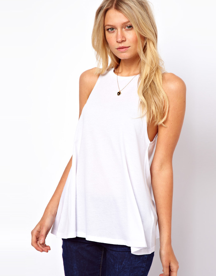 Asos Tank with Extreme Swing
