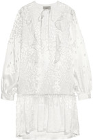 Preen by Thornton Bregazzi Polina devoré silk-chiffon dress