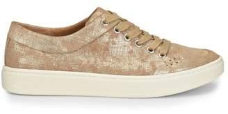 Sofft Sanders Metallic Suede Sneaker