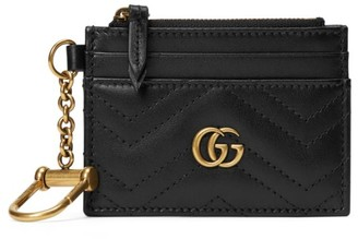 Gucci GG Marmont Key Chain Wallet