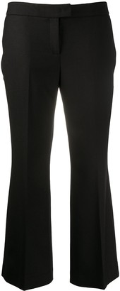 Twin-Set High-Waisted Cropped Trousers