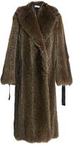 Loewe Ribbon Fur Coat