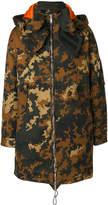 DSQUARED2 oversized camouflage parka