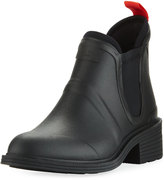 Rag & Bone Dartford Rubber Ankle Boot, Black