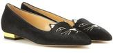 Charlotte Olympia Mid-century Kitty Slippers